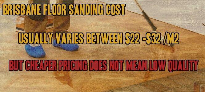 Floor Sanding Cost Brisbane