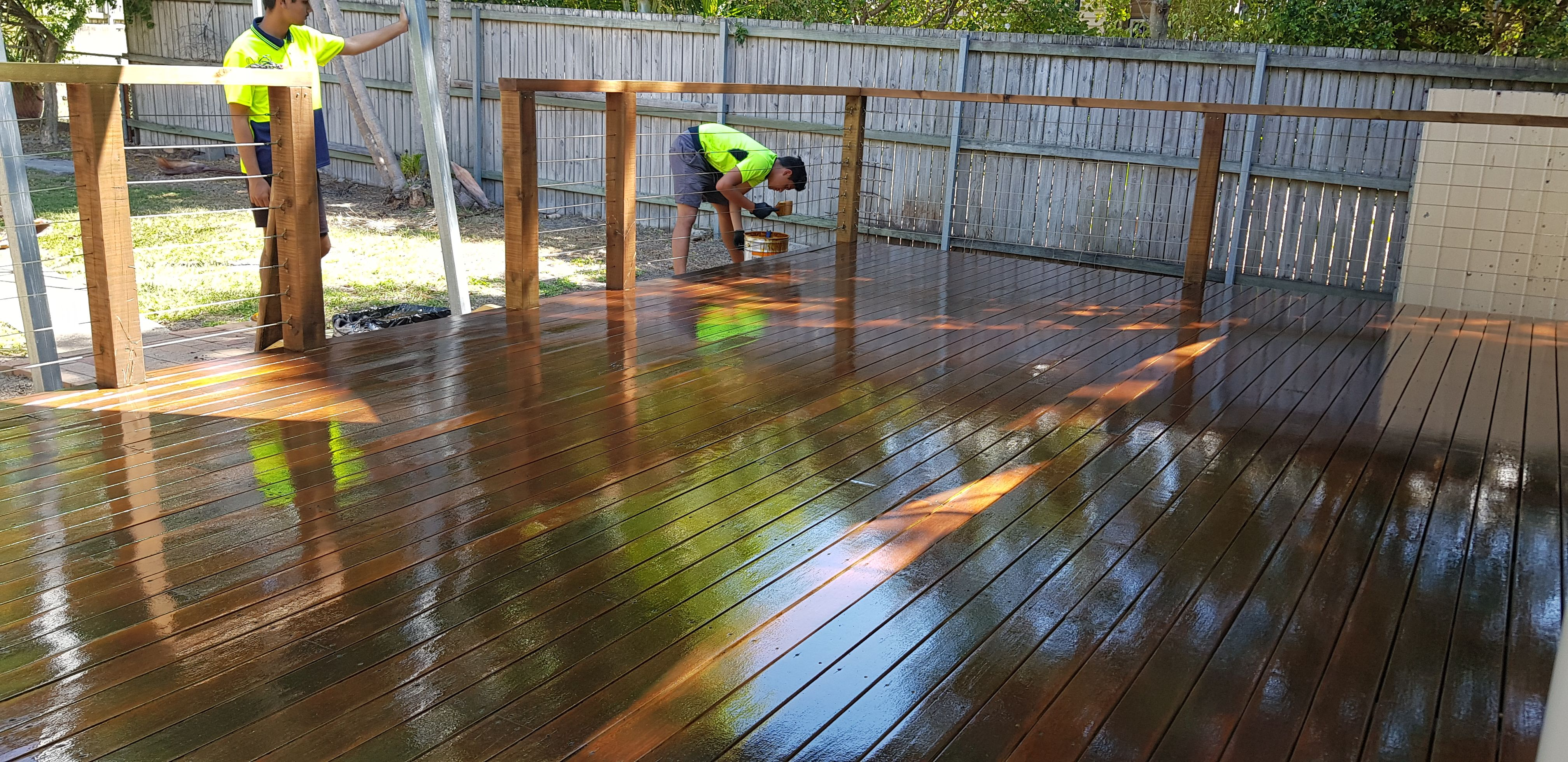 sample of floor sanding and polishing western suburbs Brisbane