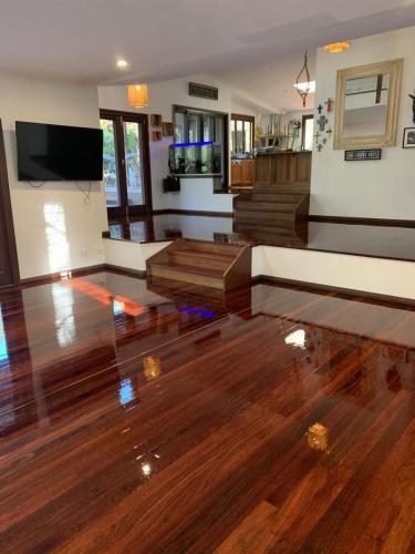 Floor Sanding and Polishing Living Room
