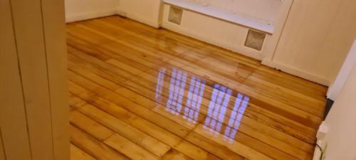 Floor Sanding and Polishing In Bedroom