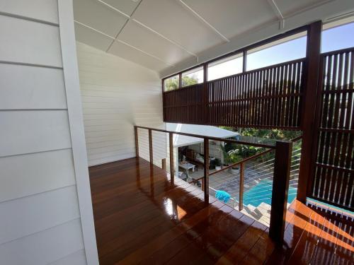 Floor Sanding and Polishing Near Deck and Pool