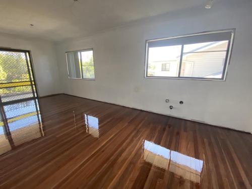 Living room floor Sanding and Polishing Brisbane